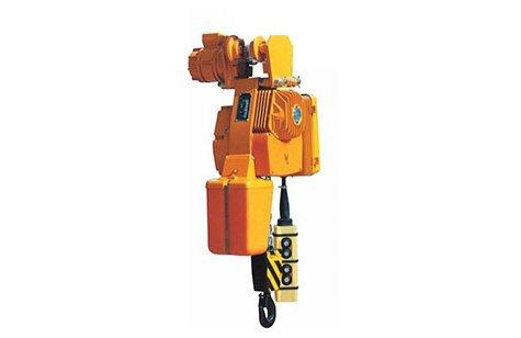 Таль электрическая цепная на ручной приводной тележке, г/п 0,125т-5т - Болгария